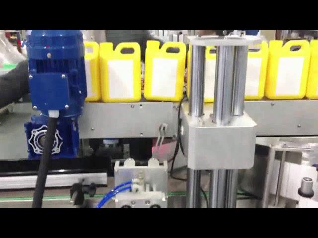 Mesin Pelabelan Botol Cairan Pembersih Otomatis