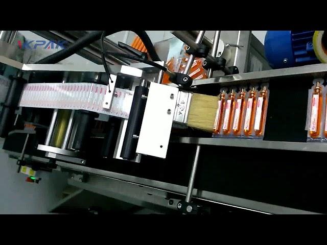Mesin Pelabelan Tabung Darah Koleksi Otomatis