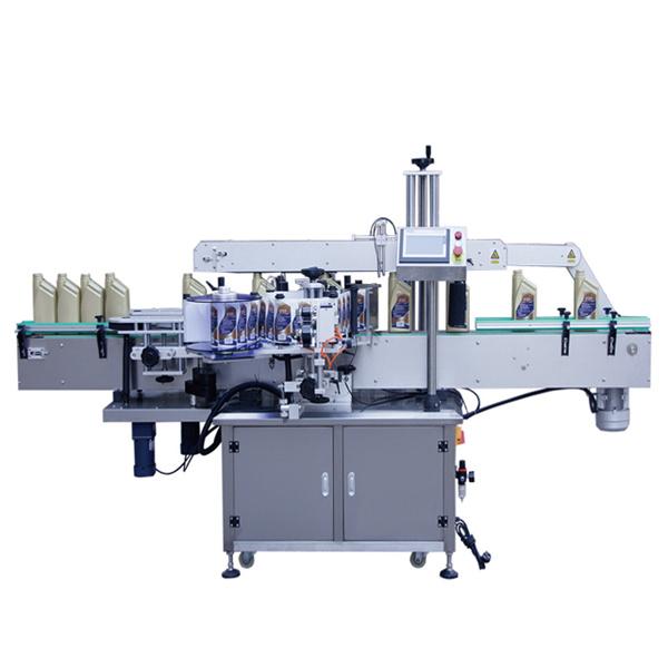 Mesin Pelabelan Dua Sisi Otomatis Untuk Botol Losion Sampo