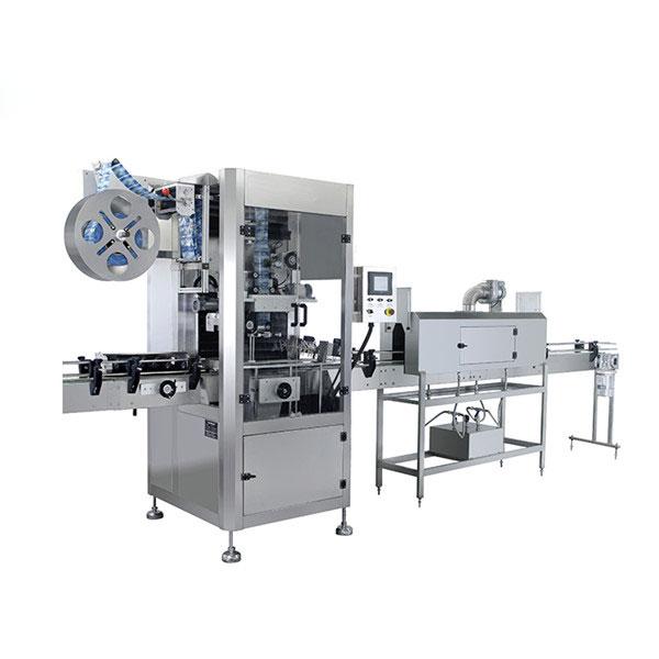 Mesin Pelabelan Susut Lengan PVC Otomatis untuk Botol