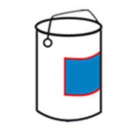 Bucket Satu Sisi Labeler