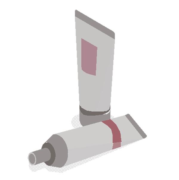 Label Kemasan Tabung Kosmetik