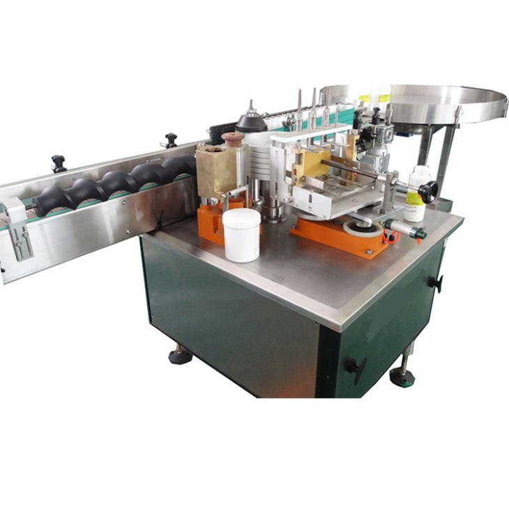Mesin Pelabelan Label Kertas Lem Basah Otomatis Penuh untuk Produk Alkohol