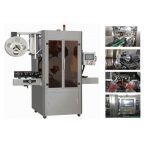 Mesin Pelabelan Aplikator Kecilkan Lengan PVC Otomatis Penuh Berkecepatan Tinggi