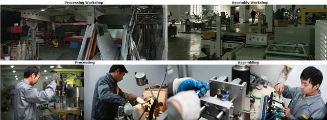 Mesin pelabelan pabrik